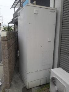 (施工前)コロナエコキュートからダイキン エコキュート フルオートへの入れ替え施工事例