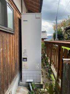 (施工前)三菱電気温水器(追いだき)から三菱エコキュートへの入れ替え施工事例