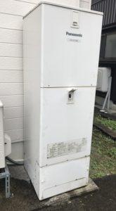 (施工前)パナソニックエコキュートからダイキン エコキュート給湯専用への入れ替え施工事例